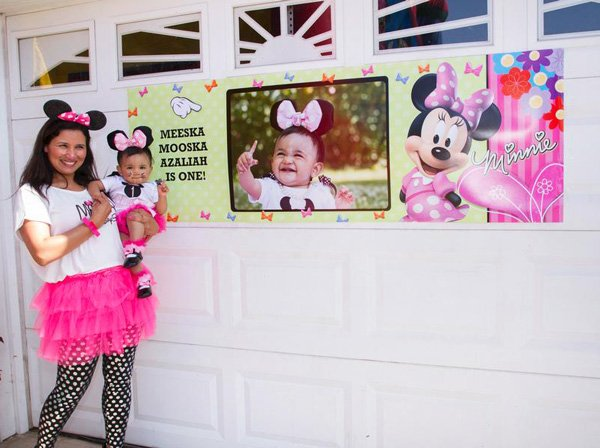Minnie Mouse Birthday Girl