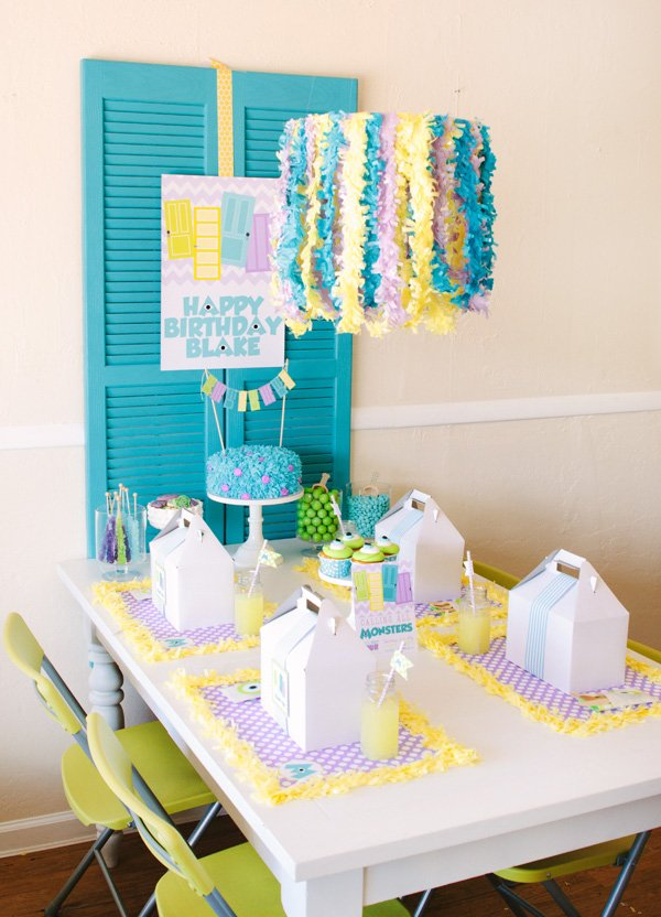 minsters inc party ideas