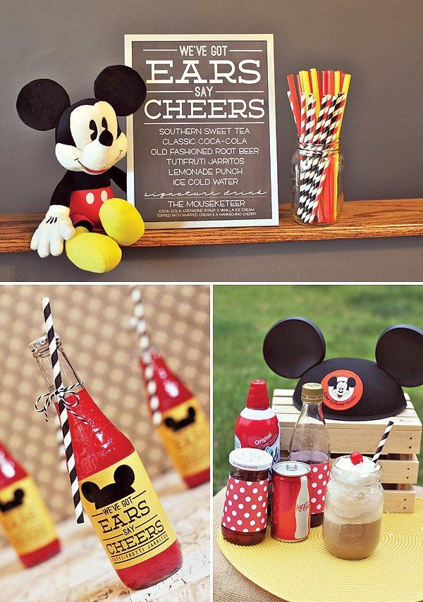 Mickey Mouse Theme Birthday Party