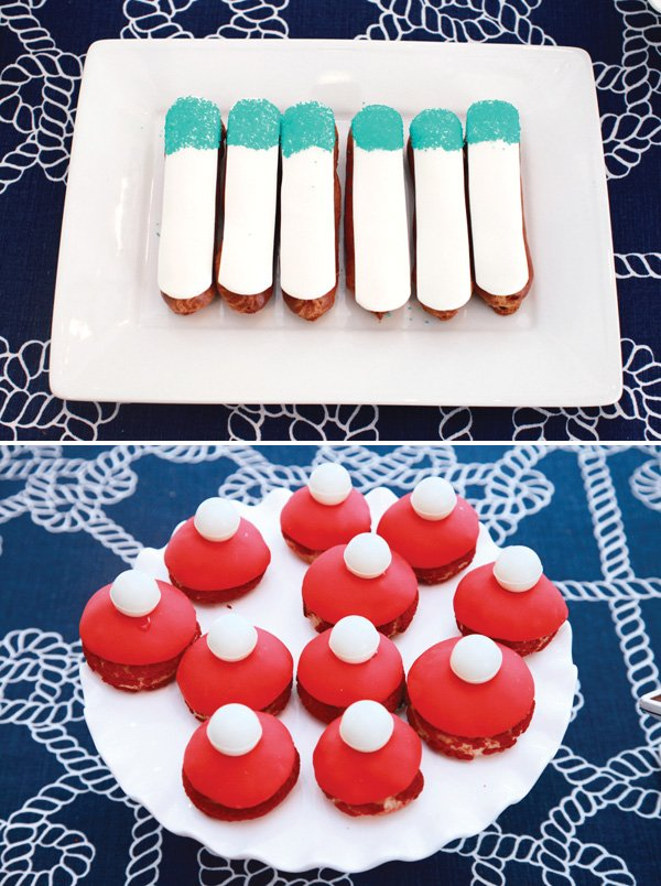 Nautical Themed Desserts