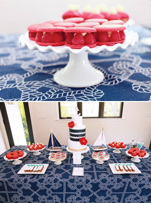 Nautical Dessert Table