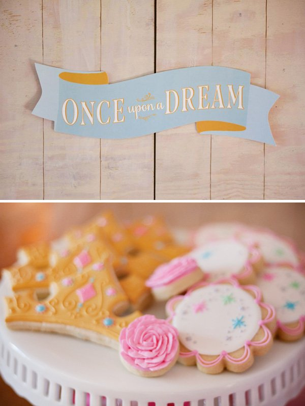 once upon a dream fairytale banner