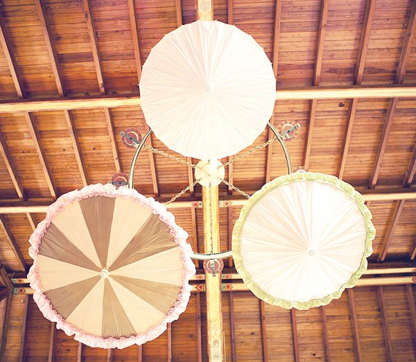 Parasol ceiling decorations