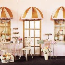 Parisian Cafe backdrop