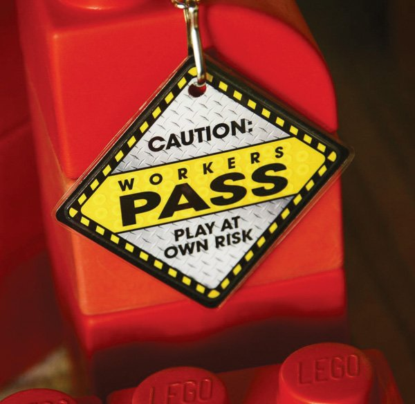 """Construction Party """"Worker's Pass"""""""