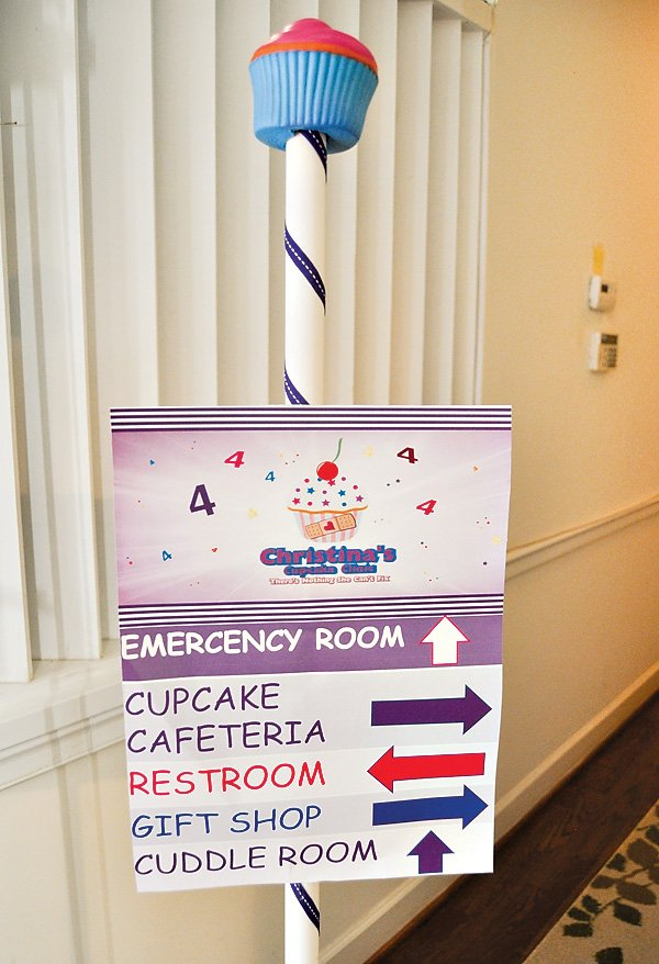 Doc McStuffins Birthday Party Sign