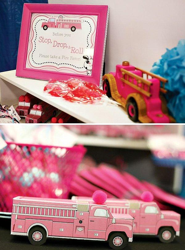 pink firetrucks