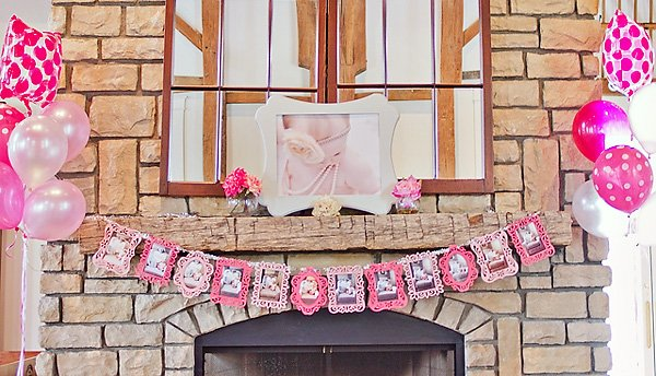 Pink First Birthday Party Ideas