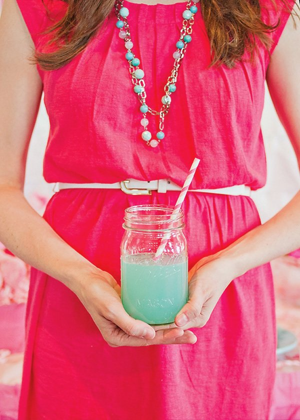Pink & Mint Party Outfit