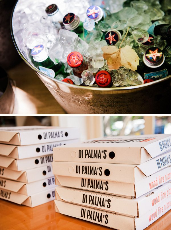 Italy themed pizza party