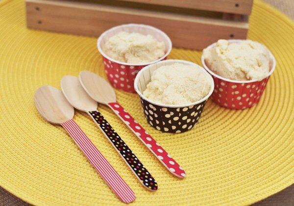 Polka Dot Ice Cream Cups