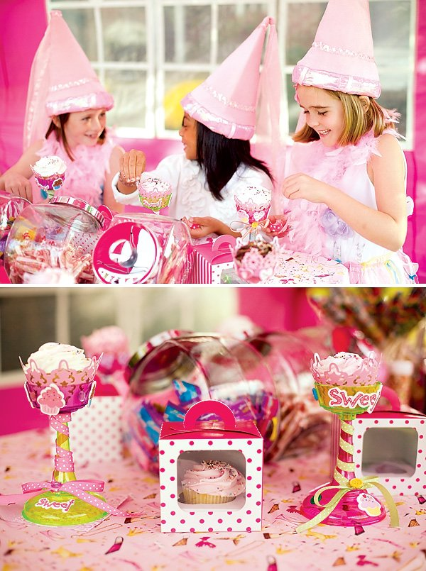 Pretty Princess Cupcake Decorating Party! // Hostess with ...