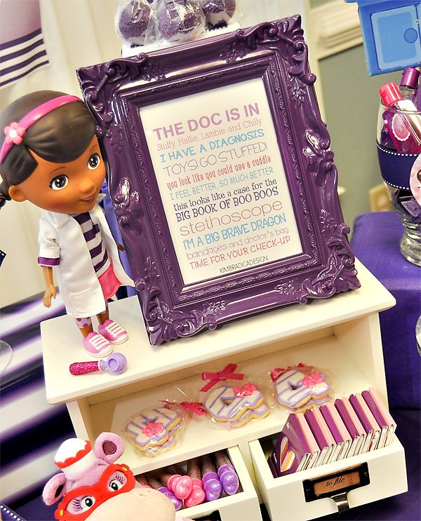 Doc McStuffins Party Sign