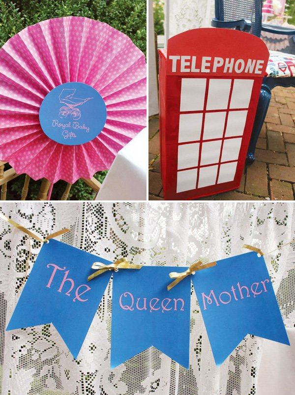Royal Baby Shower Decoration Ideas