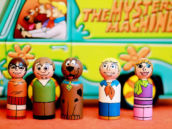 Scooby Doo Wooden Peg Dolls