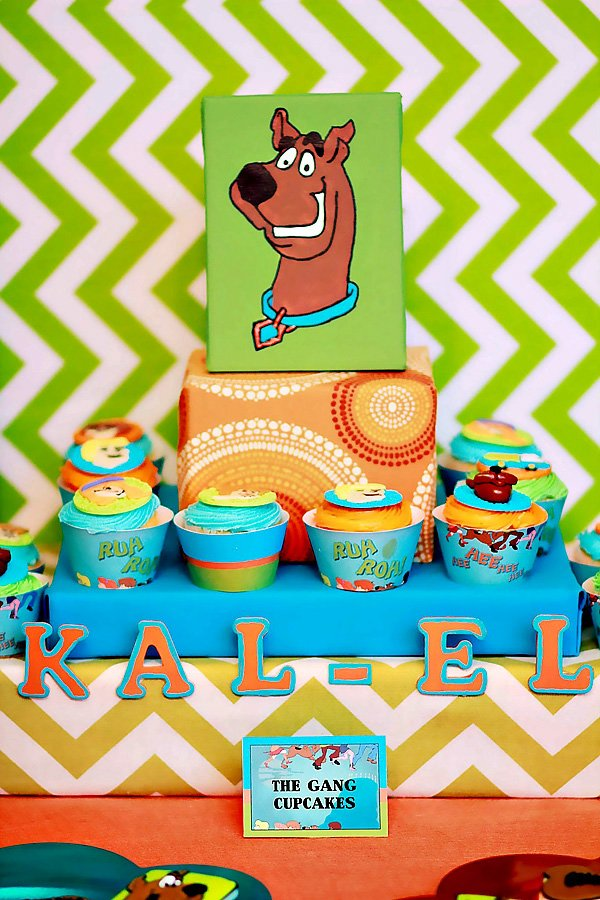 Scooby Doo Themed Birthday Party