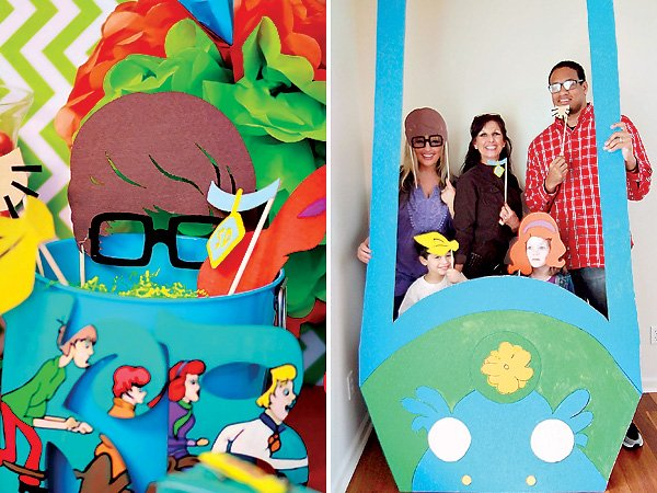 Scooby Doo Photo Booth & Props