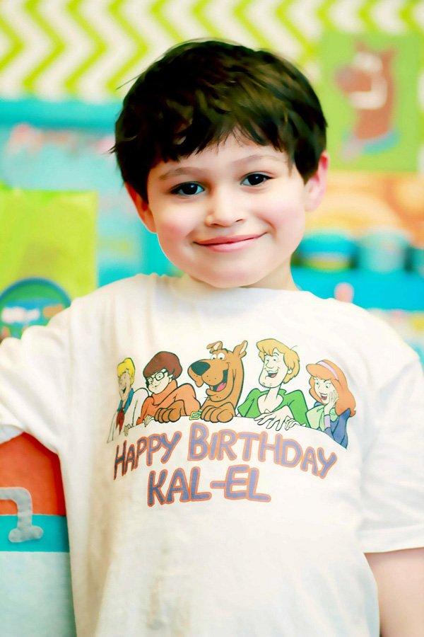 Scooby Doo Birthday Shirt