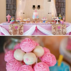 sleeping beauty dessert table