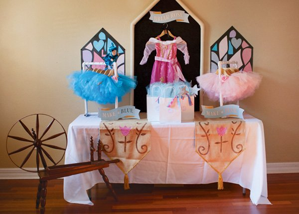 sleeping beauty party ideas