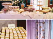 Sophisticated & elegant dessert table