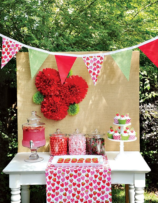 Summer Strawberry Party