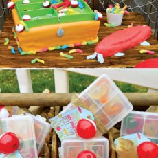 Tackle Box Birthday Cake