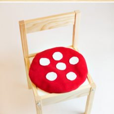toadstool cushion diy