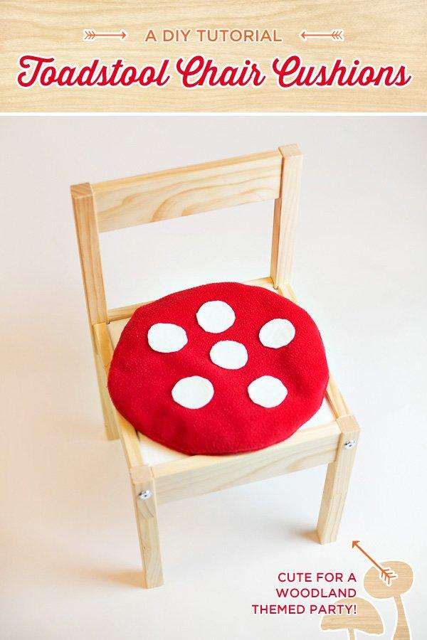 toadstool cushion diy