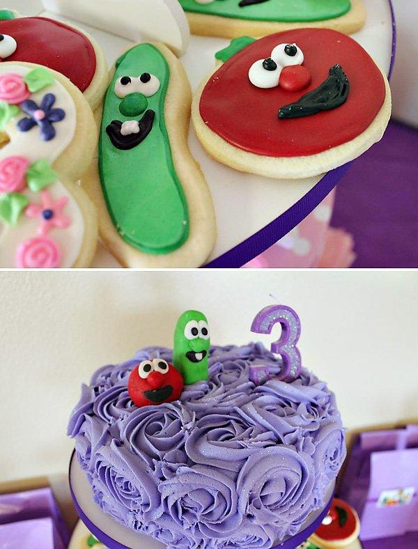 Veggie Tales Cookies