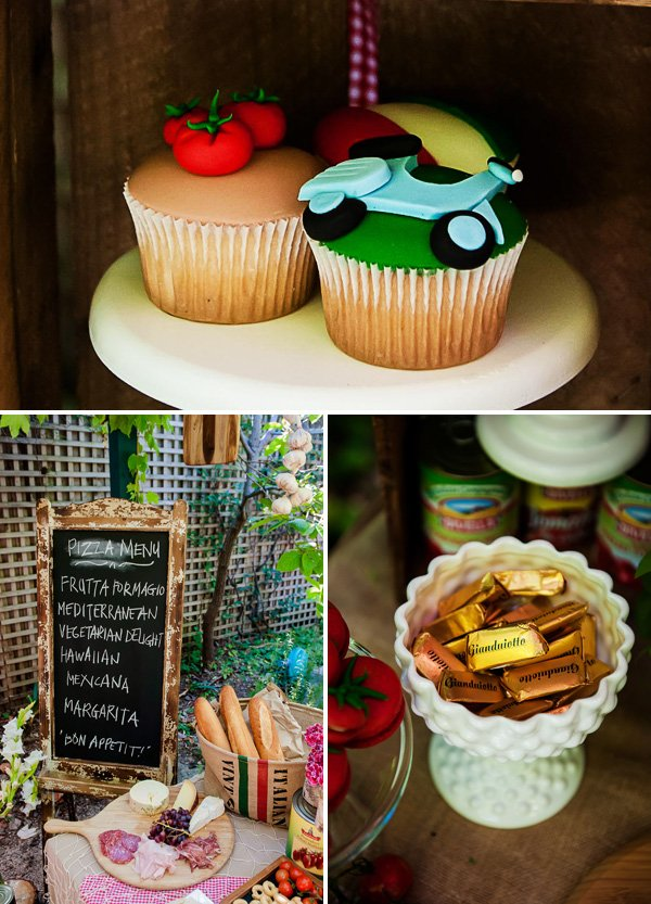 Italian themed party food ideas