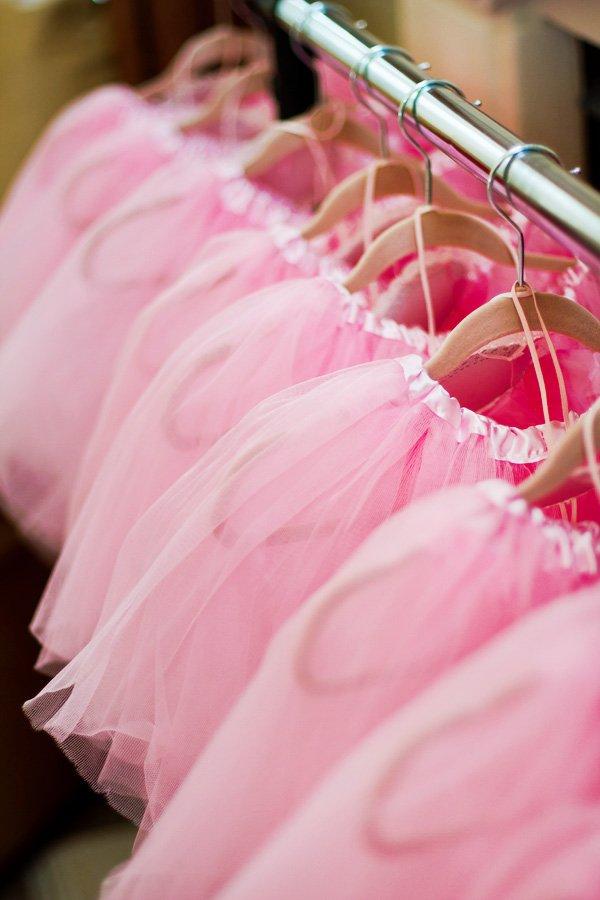 Pink ballerina tutus