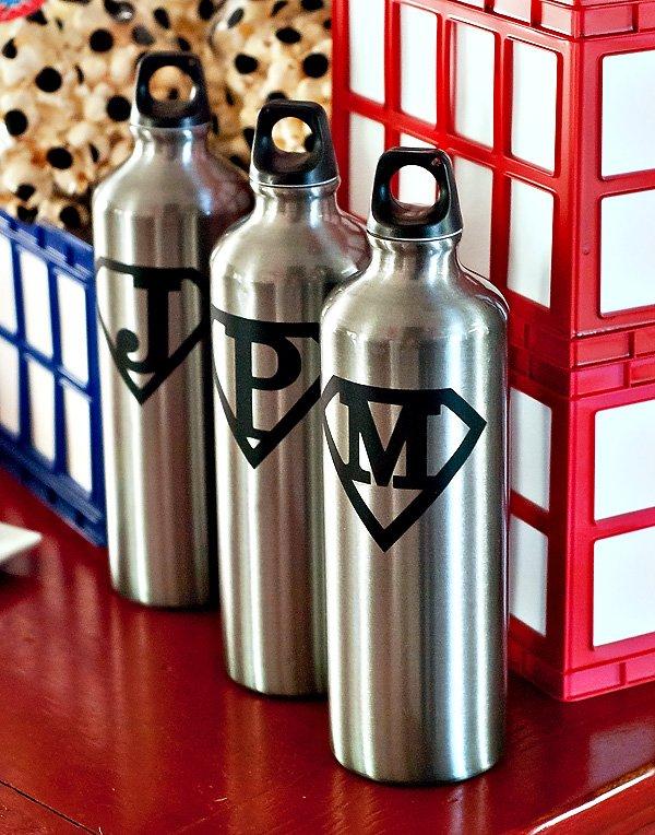 water bottle favors