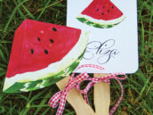 watermelon picnic party