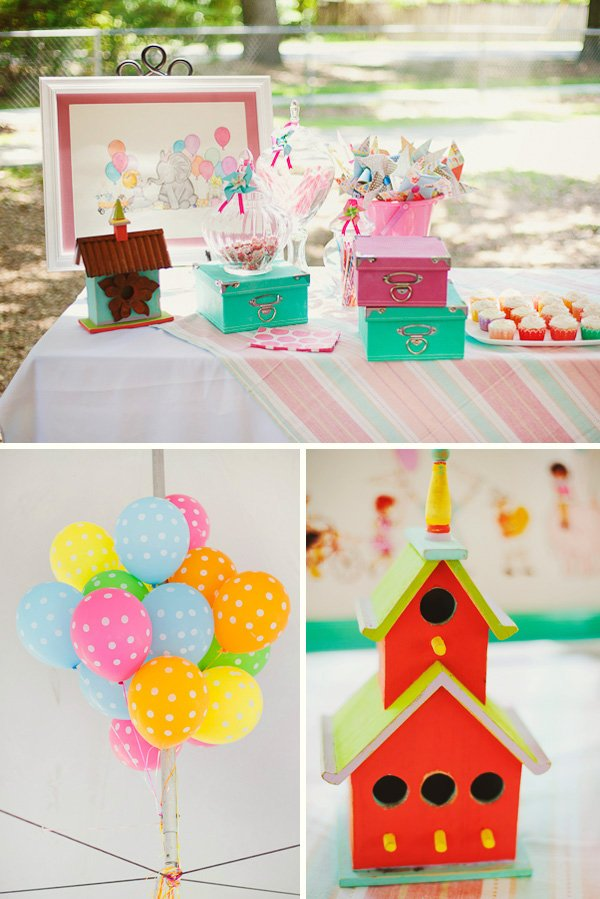 Whimsical birthday party ideas