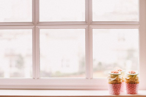 window cupcakes