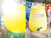 Balloons and Lemonade