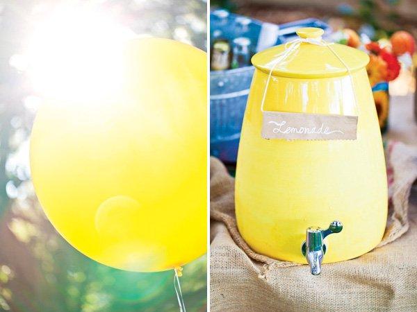 Balloons and Lemonade
