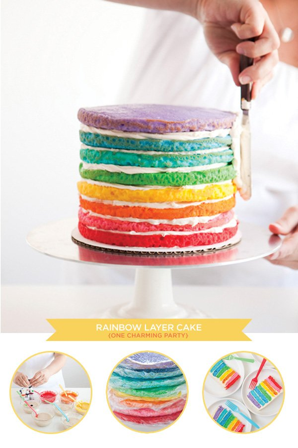 8 Fabulous Party Cake Techniques & Tutorials // Hostess with the Mostess®