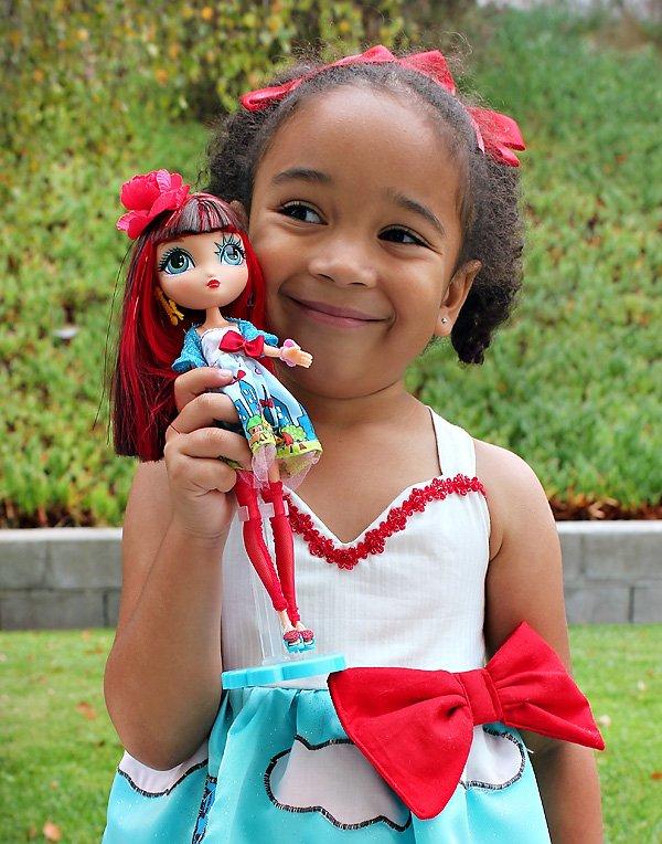 LaDeeDa doll inspired dress