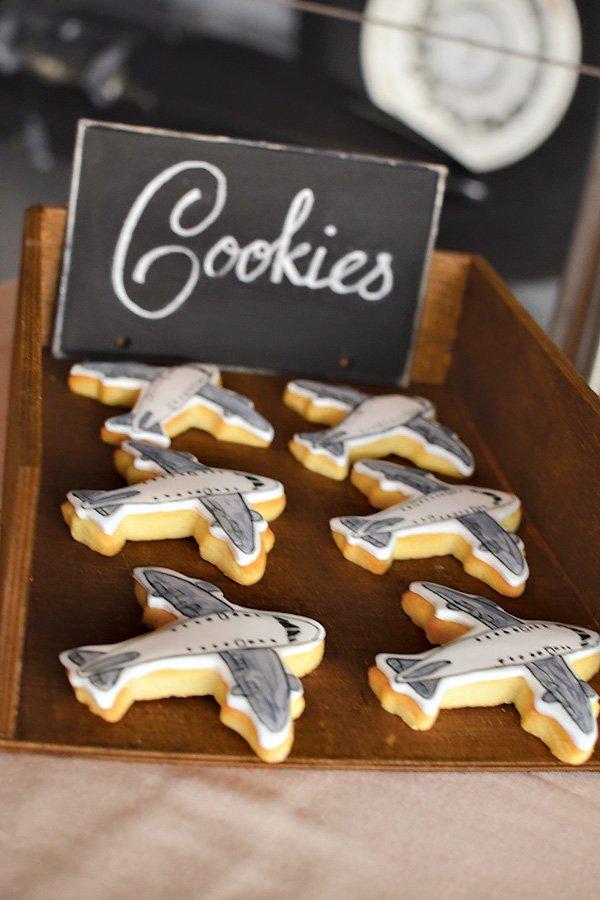 aviation cookies