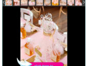 Pink and Gold Ballerina Party Ideas