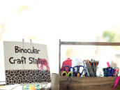 binocular craft station