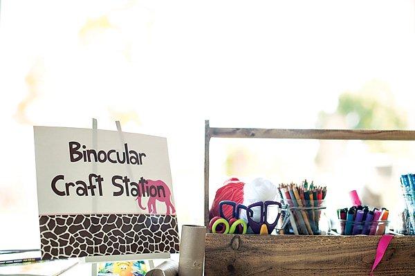 binocular craft station