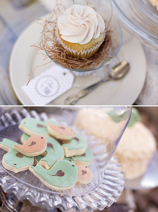 Bless This Nest Bird Baby Shower Hostess With