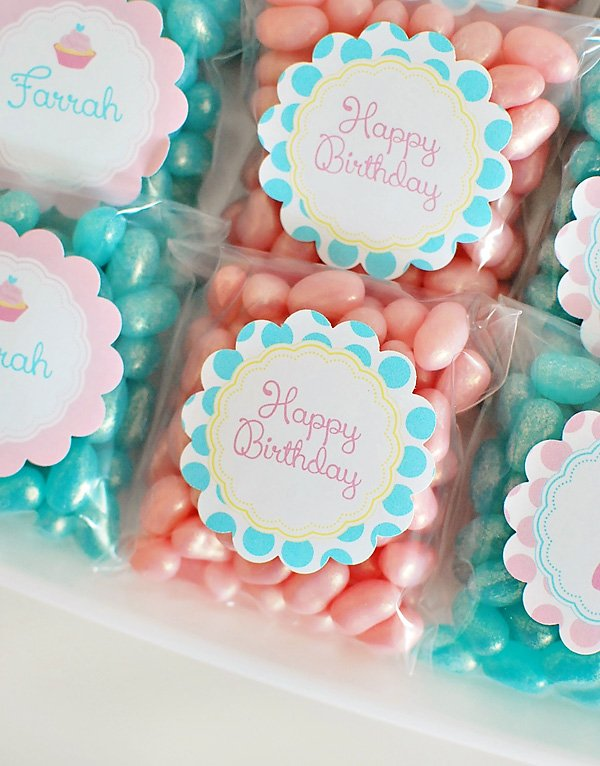 birthday party tag