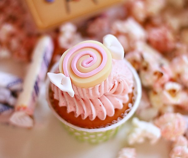 Candy Cupcake Topper