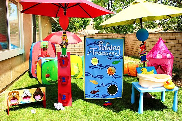Sesame Street Themed Carnival Games