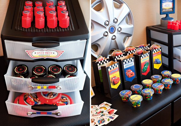 Super Cool Disney Pixar Cars Birthday Party // Hostess with the ...