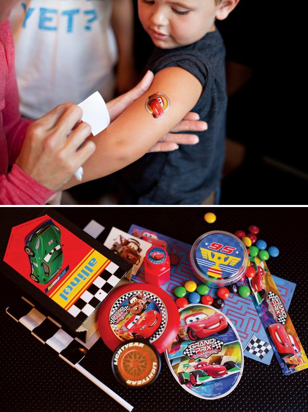 cars theme party ideas